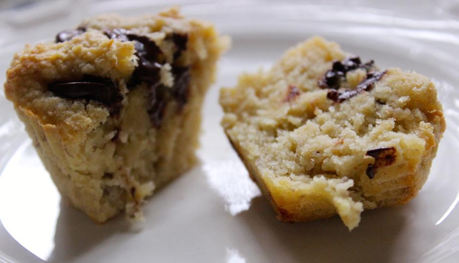 MAKE: Gluten-Free Banana and Chocolate Chip Muffins