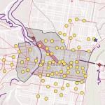 Papal Visit Bike Map