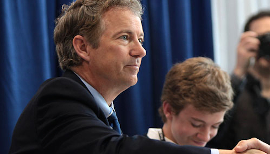 Kentucky senator Rand Paul has received major support for a Bala Cynwyd tycoon.