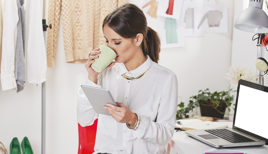stylish-woman-at-work
