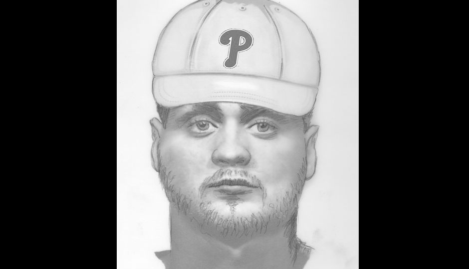 A composite released by SVU. Courtesy Philadelphia Police Department.