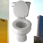 Borgata - Toilet - Harrah's