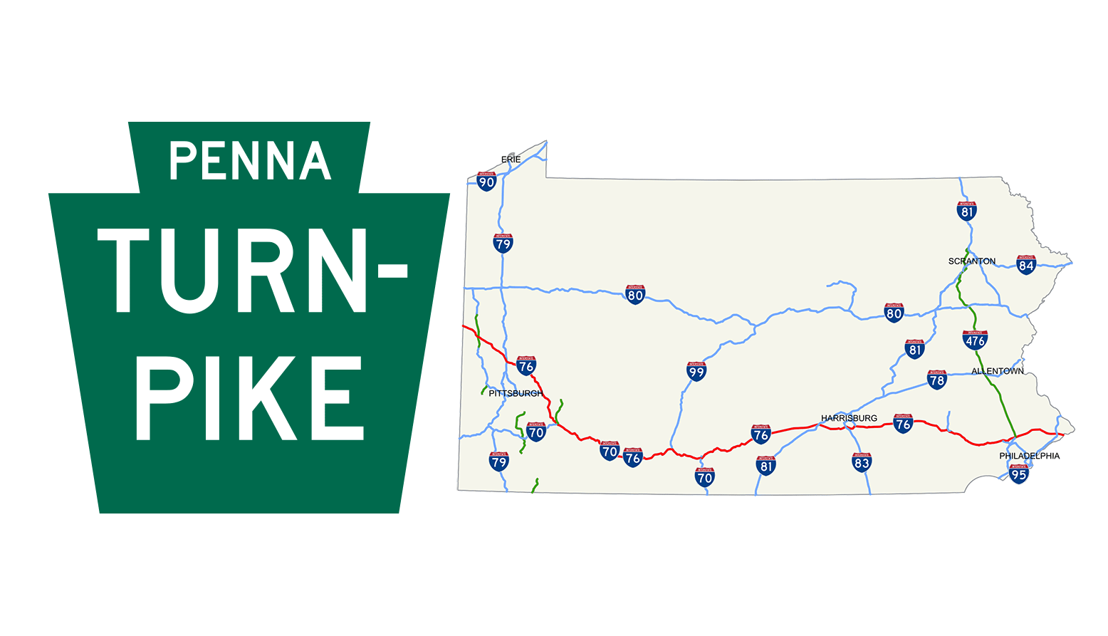 86 Mile Stretch of Pennsylvania Turnpike Closed