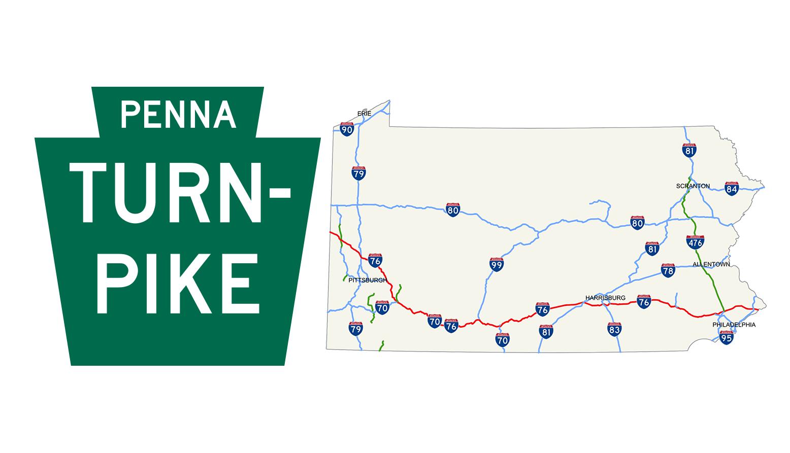 86-Mile Stretch of Pennsylvania Turnpike Closed