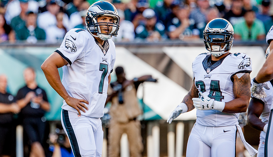 Sam Bradford and Ryan Mathews. (Jeff Fusco)