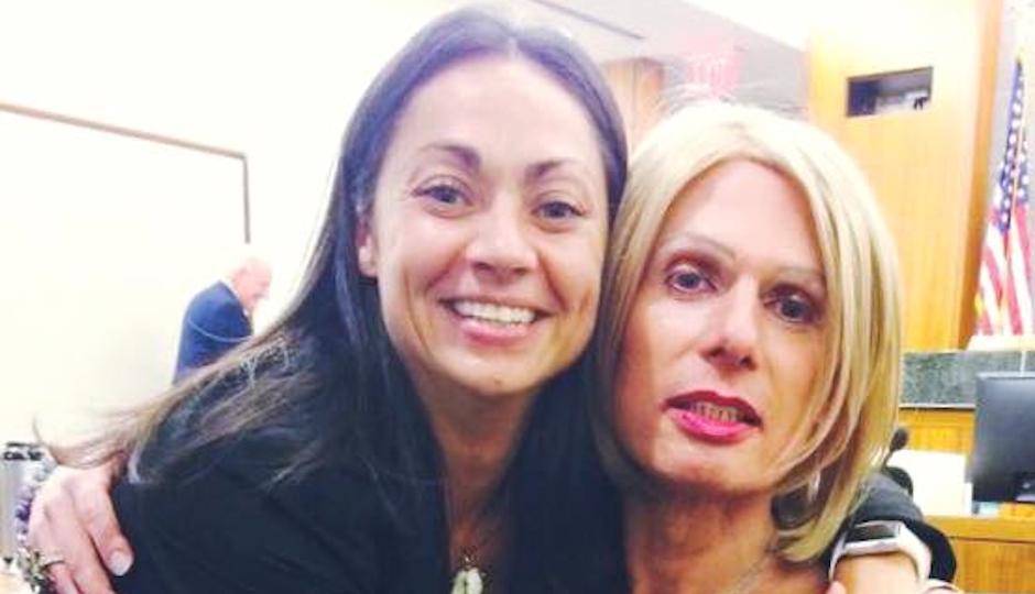 Angela Giampolo with Christine Kitzler. Used with permission.