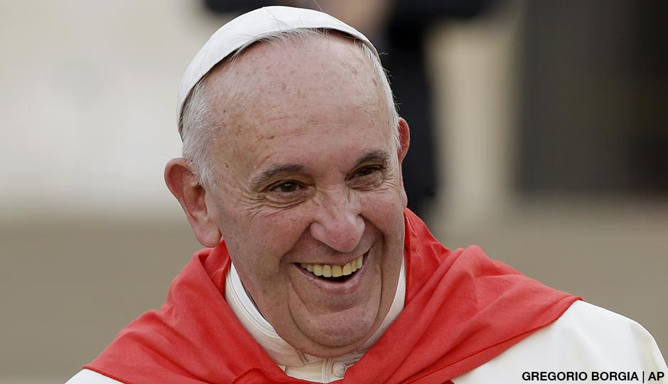 Pope Francis | Photo by the AP