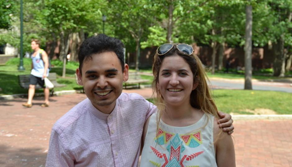 Sayid (Sy) Abdullaev and Katie Sgarro