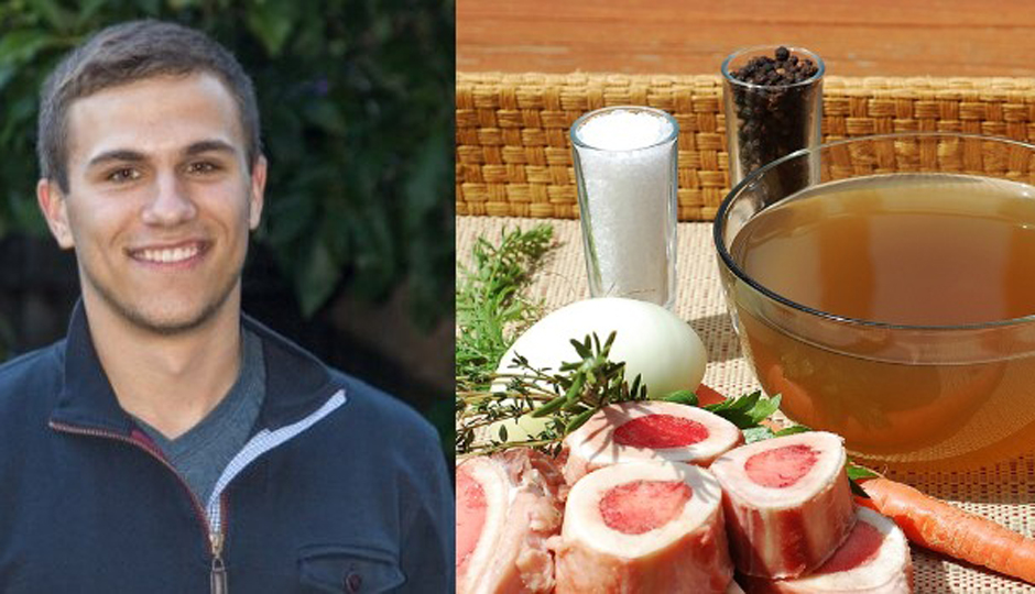 Nick Mares, founder of Bone Broth Co.