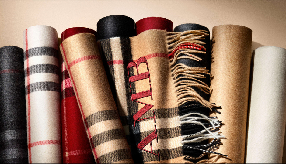 246ba690fcde Burberry in King of Prussia Just Launched a Custom  Scarf Bar