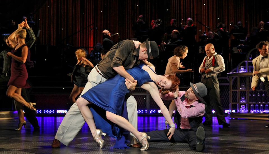 A scene from Twyla Tharp's  Come Fly With Me