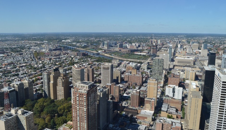 You could probably get used to this penthouse view atop Two Liberty Place | Photos: James Jennings
