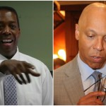 Left, Darrell Clarke. Right, Bill Hite. | Photos by Philadelphia City Council and Associated Press.