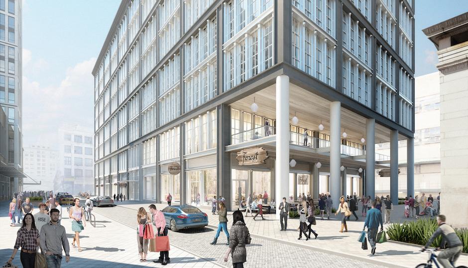 A view of 34 South 11th Street | Via Nation Real Estate Developer, BLTa, Morris Adjmi