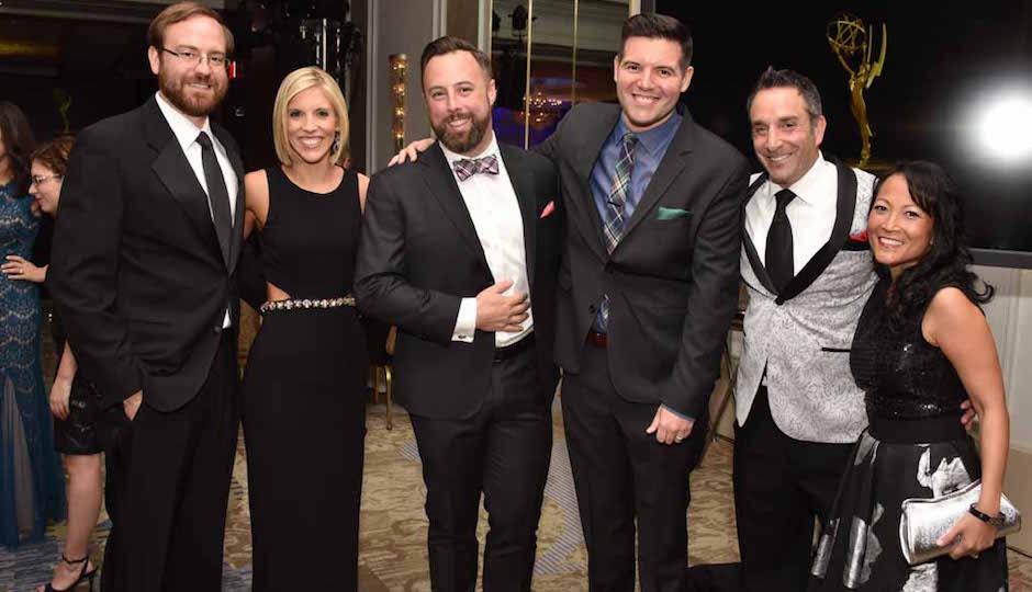 Ben Cross, Rosemary Connors, NBC10, Joshua Edwards, Vince Lattantio, NBC10, Matt Maiorano, NBC10 and Mecmee Maiorano