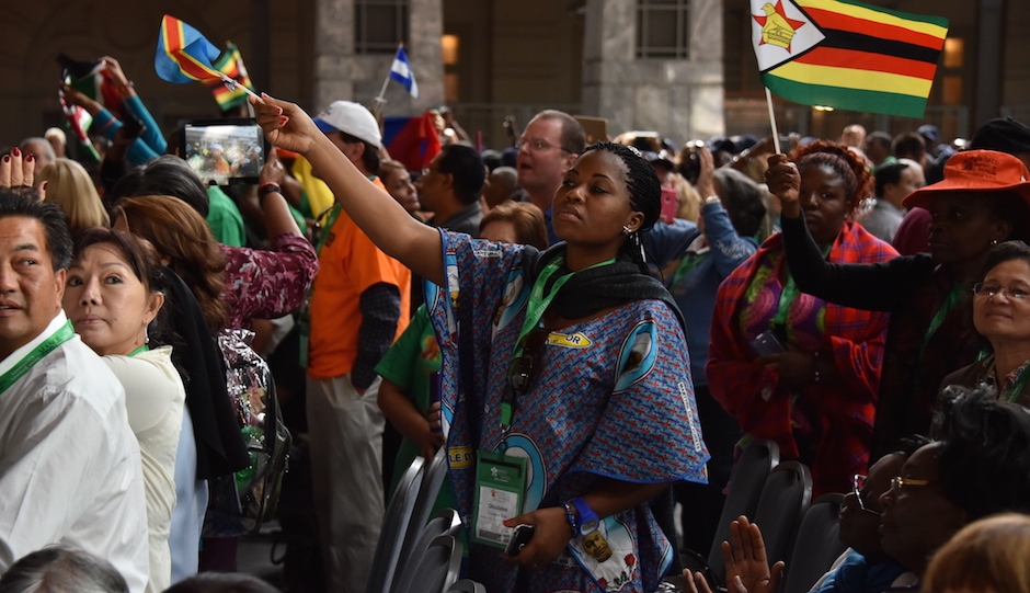 Guests from more than 100 countries will attend the World Meeting of Families in Philadelphia. | Photo by HughE Dillon