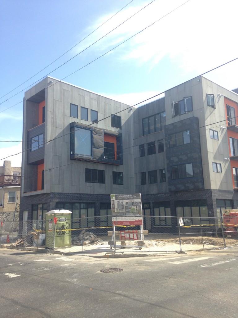 The Carpenter Square condo building. | Photos: Sandy Smith