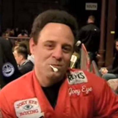 """Boxing trainer and promoter """"Joey Eye."""" (YouTube)"""