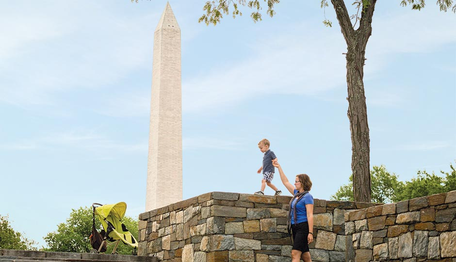 The Washington Monument. Photograph by Matthew Rakola