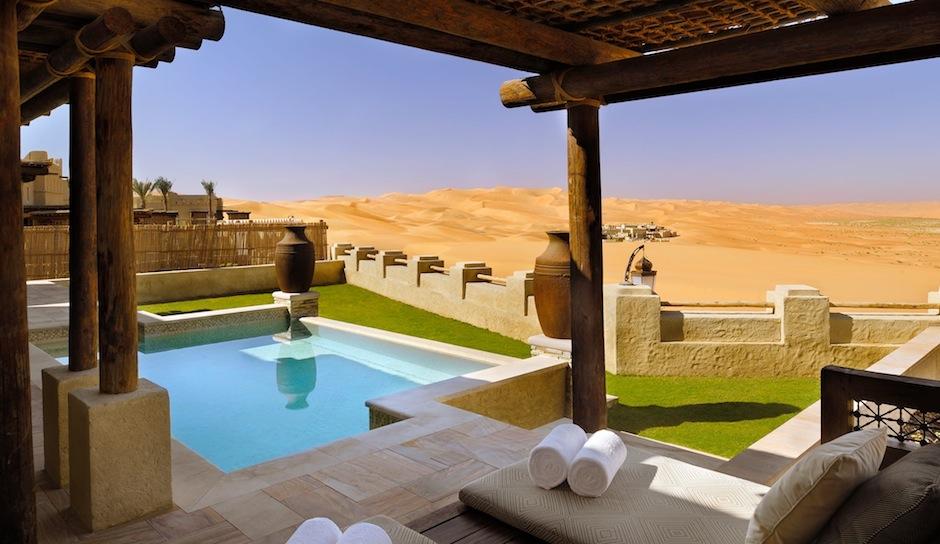 Check out that view of Abu Dhabi. Facebook.com/AnantaraQasrAlSarab