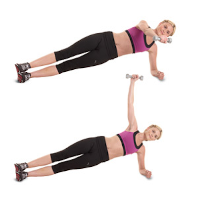 Move: Side plank.