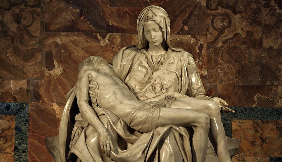 """The original """"Pieta."""""""