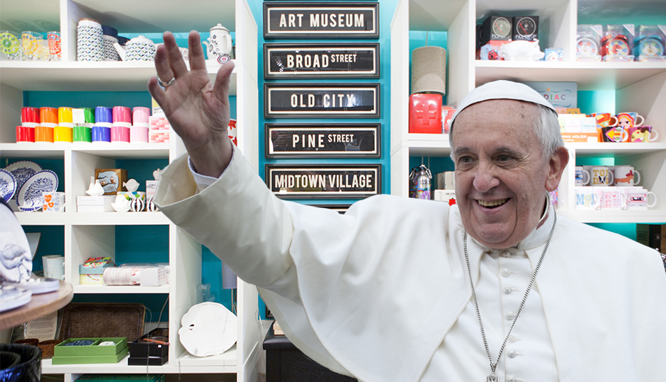 Pope Shopping