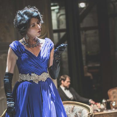 "Oropesa in ""Traviata."" Photo by Andrew Bogard."