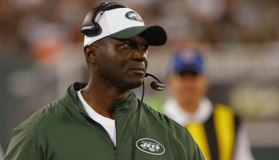 New York Jets Head Coach Todd Bowles. Photo by: Jeff Fusco.