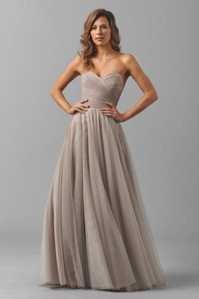 Watters Liz bridesmaid dress. Photo courtesy of the designer.