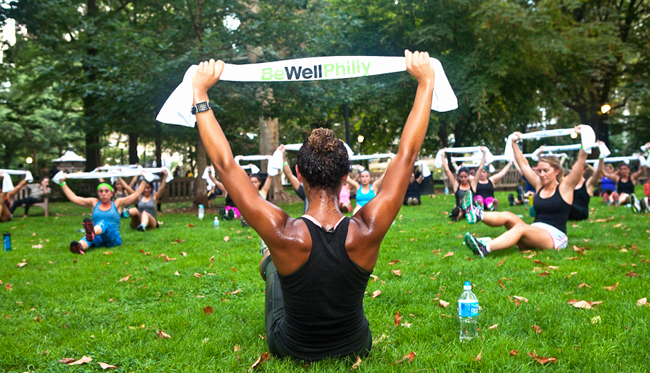 Be Well Philly Underground at Rittenhouse Square | Photo by Susan Nam