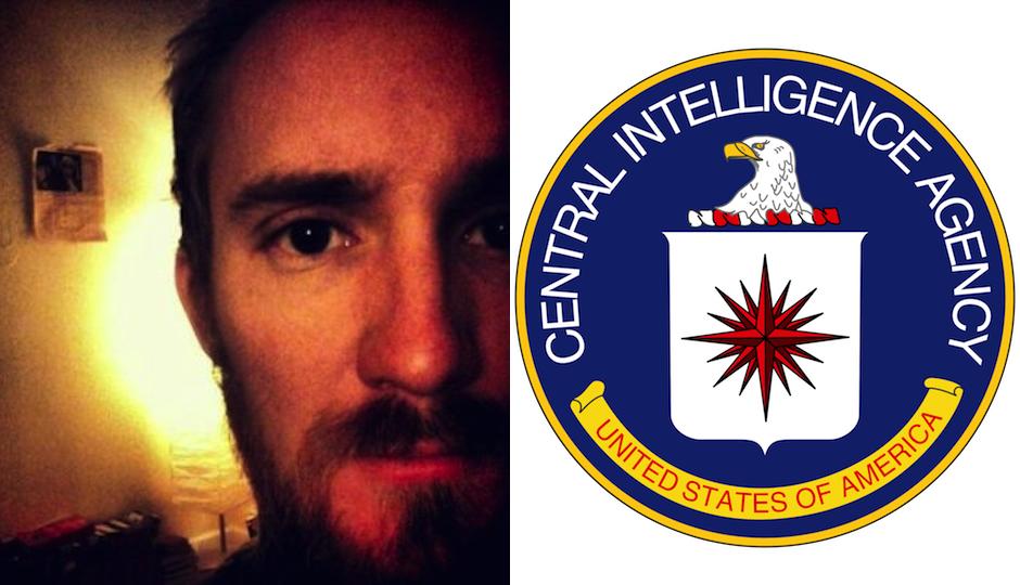 Journalist Dustin Slaughter (left via LinkedIn)