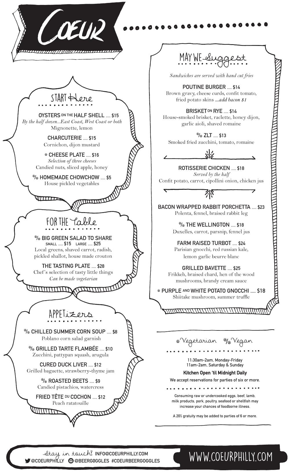 coeur-opening-menu