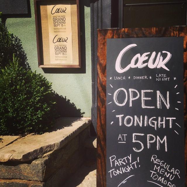 coeur opens tonight 400