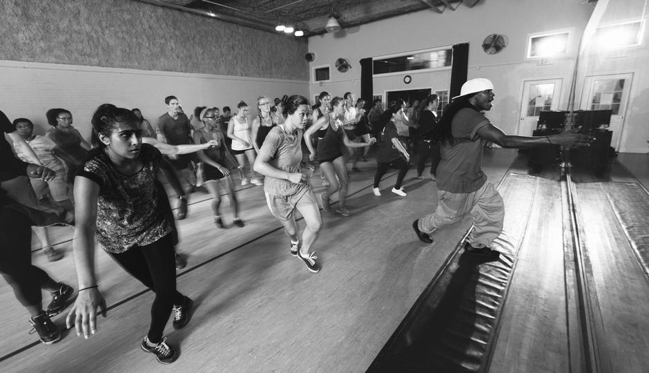 Beginner's Hip Hop at Koresh Dance Company | Photograph by Gene Smirnov