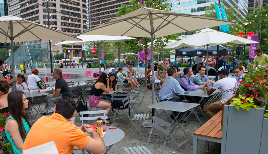 Outdoor Locations for Center City Sips