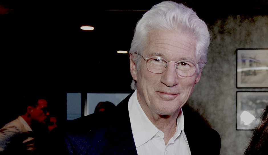 Richard Gere at the Ritz East. Photo courtesy Allied Integrated Marketing.