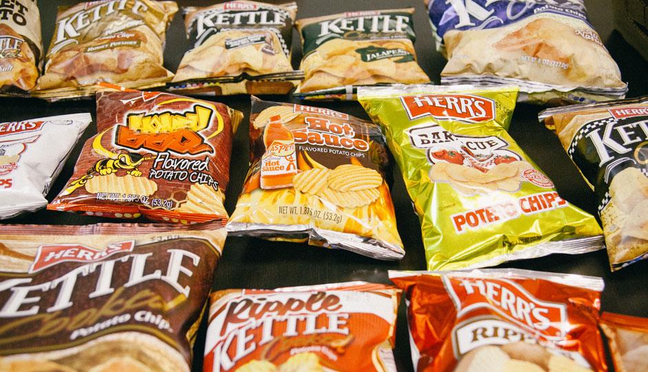 Ranked: All of Herr's Potato Chips