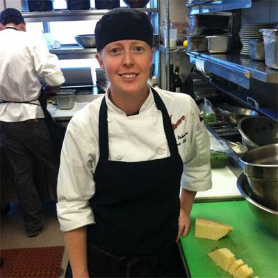 Julia Robinson, chef de cuisine at Brigantessa