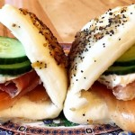 Lox Buns, new at Bing Bing Dim Sum
