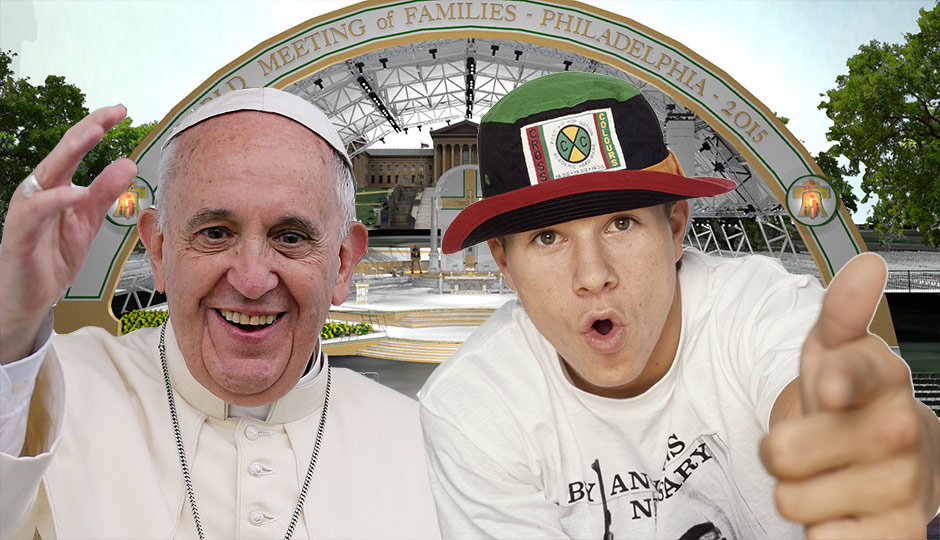 Mark Wahlberg and The Pope