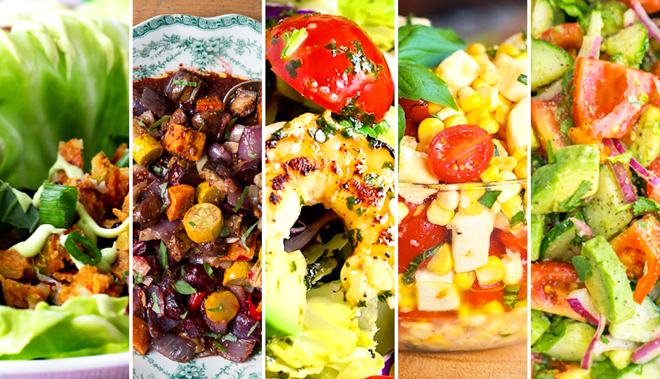 what to eat end of summer salads