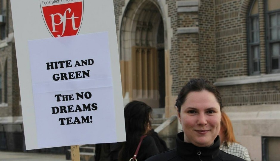 Kristin Combs, a PFT member and City Council candidate, did not get the PFTs endorsement.