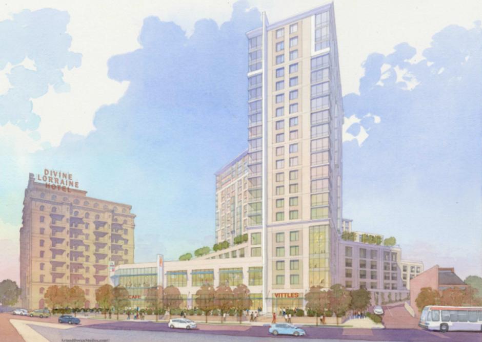 1300 Fairmount   Via Civic Design Review, RAL Development Services, Cope Linder Architects.