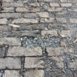A closer look at newly discovered wooden street in Philadelphia | Photo: Ted Savage