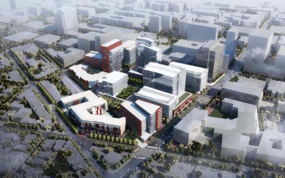 uCity Square conceptual site plan