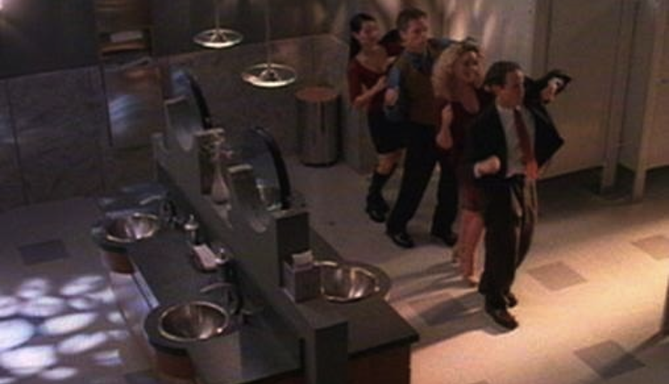 """A scene from """"Ally McBeal."""""""