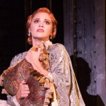 """Emma Stratton in """"Bullets Over Broadway."""""""