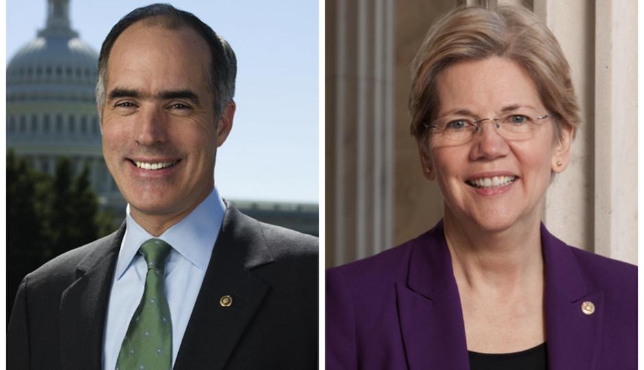 Bob Casey and Elizabeth Warren