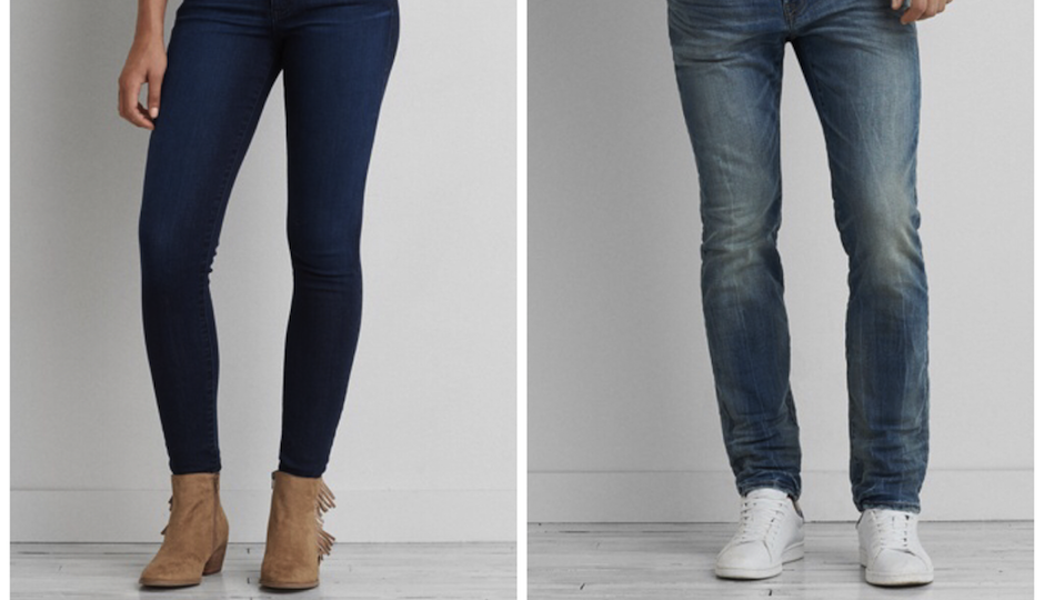 American Eagle Recycled Coffee Grounds Jeans